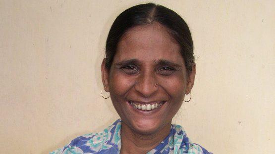 Najma Ara Khatoon, a Saidpur artisan
