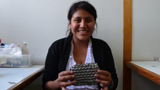 Ingrid Luarca, quality control with UPAVIM
