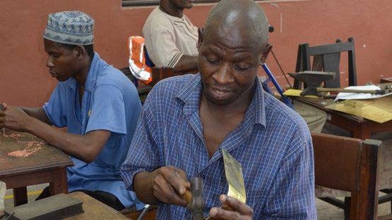 Artisans making jewellery