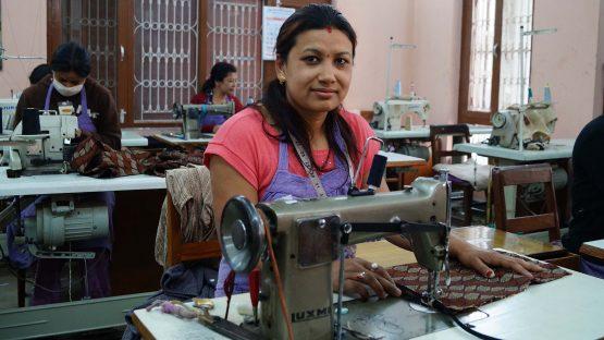 Gyanu Maharjam, a textile artisan