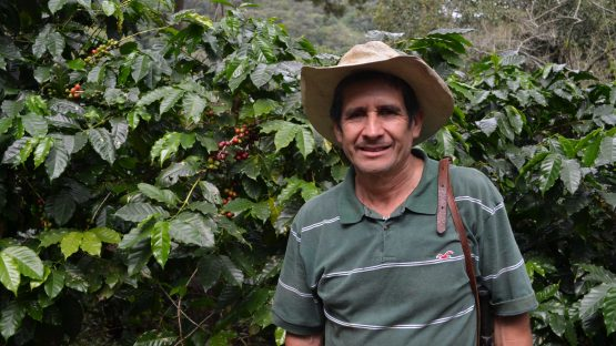 Romeo Mendoza, a coffee farmer