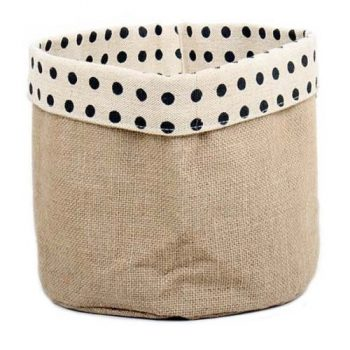 Large reversible spotty basket | TradeAid