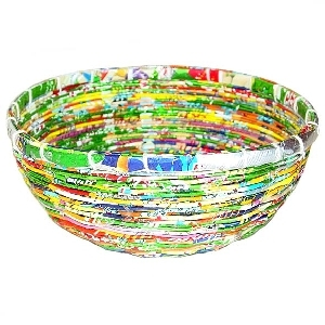 Recycled foil bowl | TradeAid