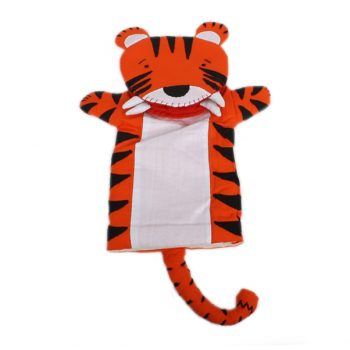 Cotton tiger puppet | TradeAid