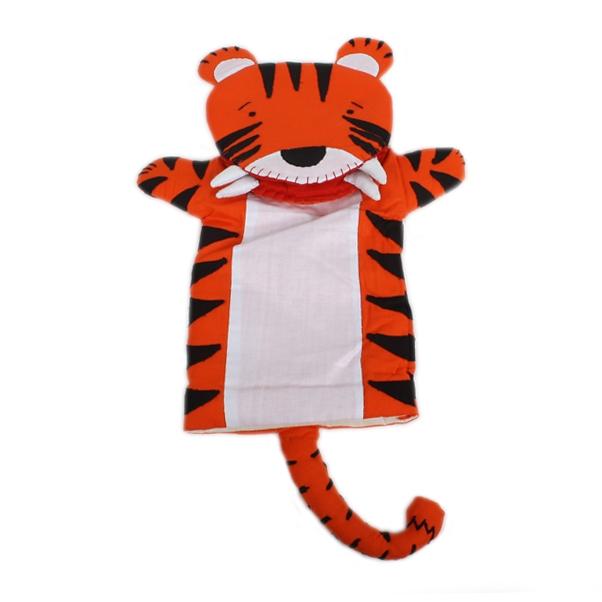 Cotton tiger puppet | TradeAid