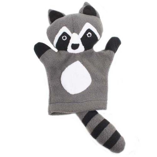 Fleece raccoon puppet | TradeAid