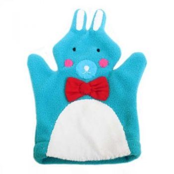 Fleece rabbit puppet | TradeAid