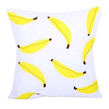 Banana applique cushion cover | TradeAid