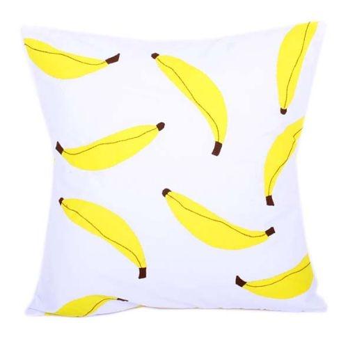 Banana applique cushion cover   TradeAid