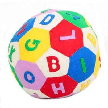 Patchwork alphabet ball | TradeAid