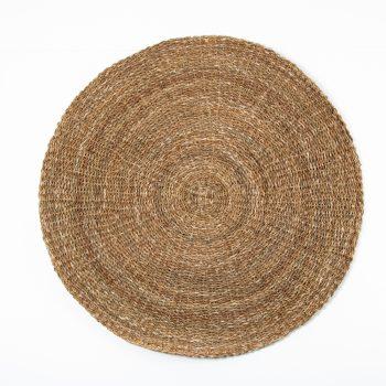 Round hogla mat | TradeAid