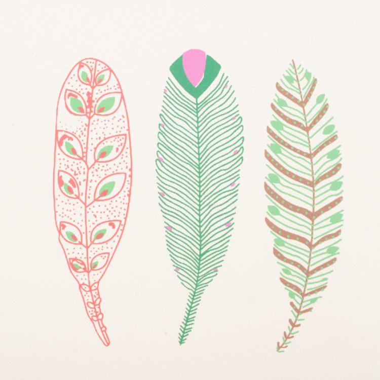 Three feather card   Gallery 1   TradeAid