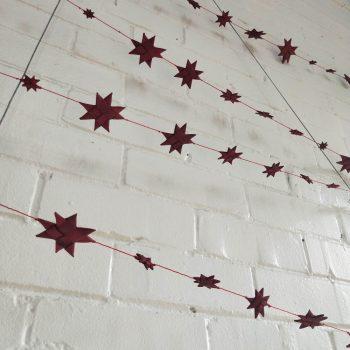 Red star garland | TradeAid