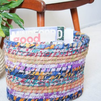 Sari magazine basket | TradeAid