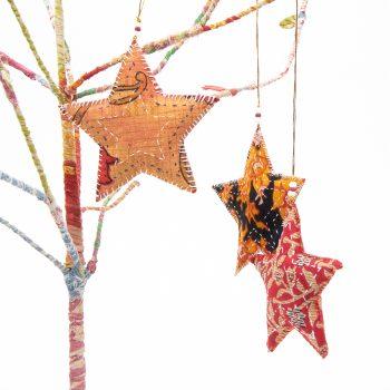 Sari star hanging | TradeAid