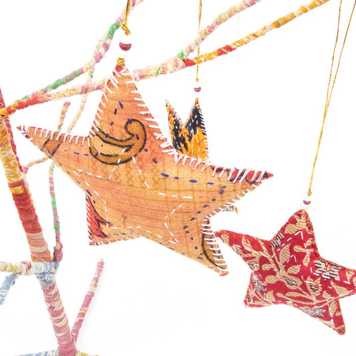 Sari star hanging | Gallery 1 | TradeAid
