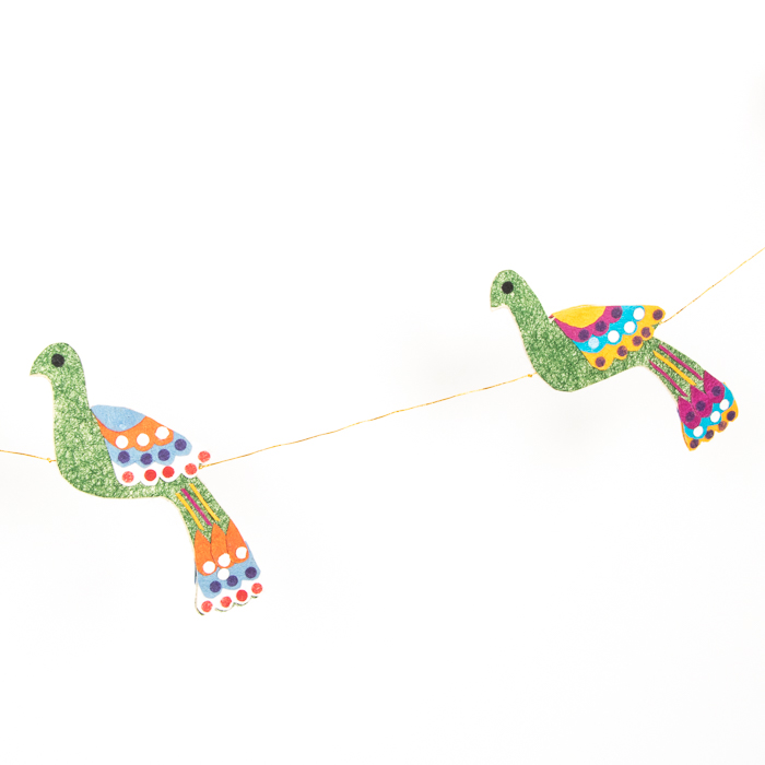 Peacock garland | Gallery 1 | TradeAid