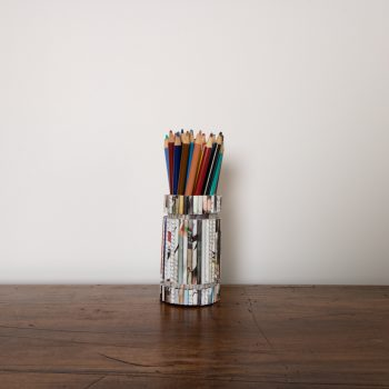 Recycled paper pen holder | TradeAid