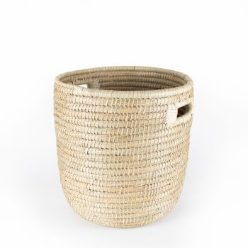 Kaisa laundry basket with inset handles | TradeAid