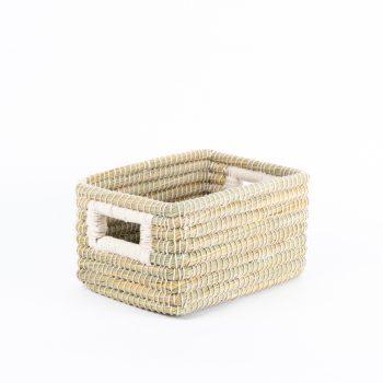 White kaisa storage basket | TradeAid
