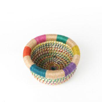 Small kaisa and jute bowl | TradeAid