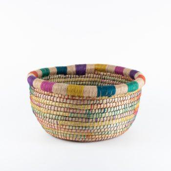 Large kaisa and jute basket | TradeAid