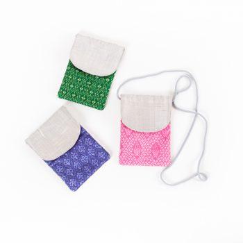 Silk and cotton shoulder bag   TradeAid