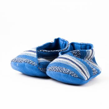 Handwoven baby booties (assorted colours) | TradeAid