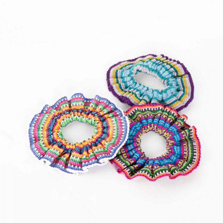 Cinta fabric scrunchie   TradeAid