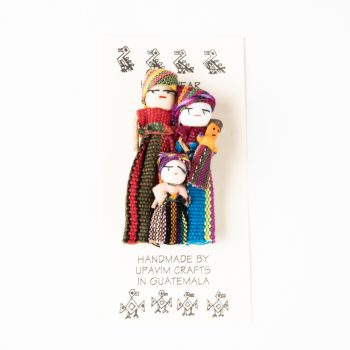 Mayan family brooch | TradeAid