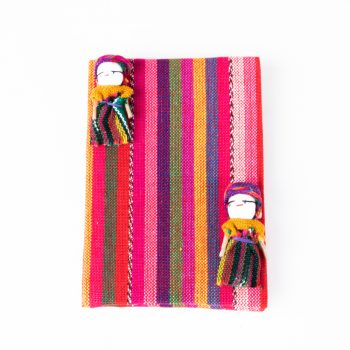 Notebook with worry dolls | TradeAid