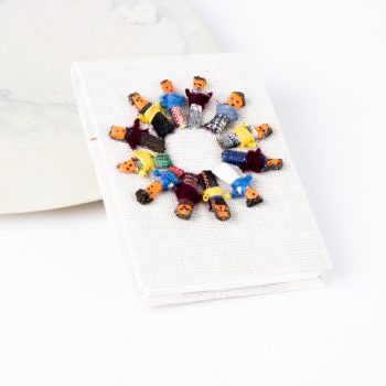 Worry doll garland notebook | TradeAid