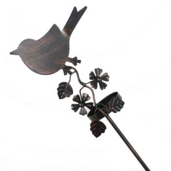 Iron bird garden candle holder | TradeAid