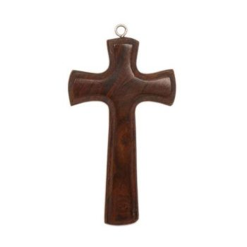 Sheesham wood hanging cross | TradeAid