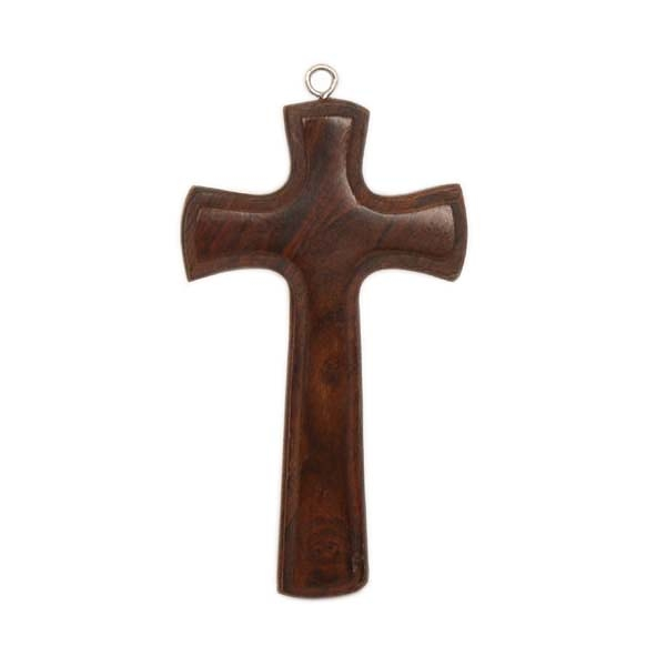 Sheesham wood hanging cross | TradeAid