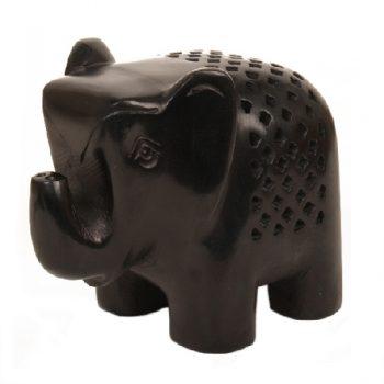 Black stone elephant | TradeAid