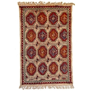 Small geometric rug | TradeAid