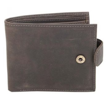 Grey eco leather wallet | TradeAid