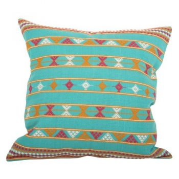 Green cotton komal cushion cover | TradeAid