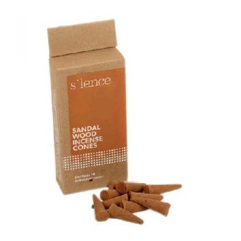 Pack of 10 natural sandalwood incense cones | TradeAid