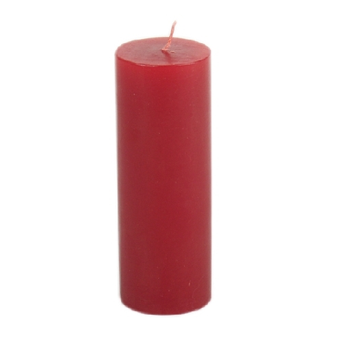 Red thin pillar candle | TradeAid