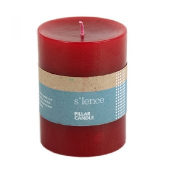 Red pillar candle | TradeAid