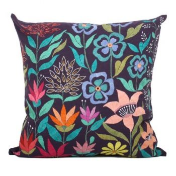 Colourful garden cushion cover | TradeAid