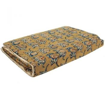 Elephant print single quilt | TradeAid