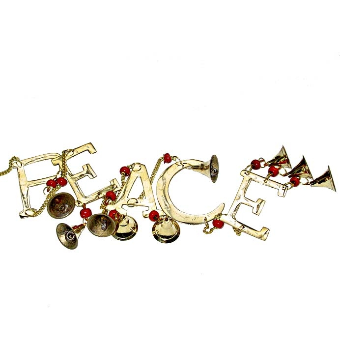 Peace bells on chain | TradeAid