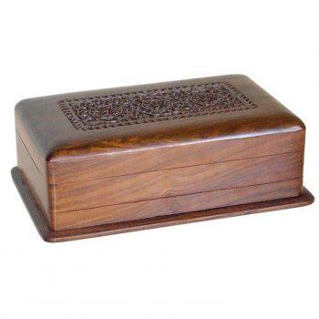 Sheesham wood box with secret lock | TradeAid