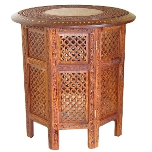 Saharanpur gardens design round table | TradeAid