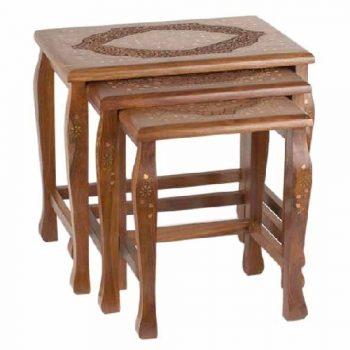 Sheesham wood nesting tables | TradeAid