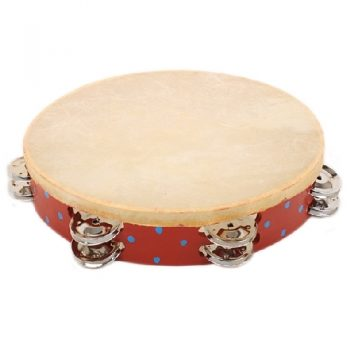 Red tambourine | TradeAid