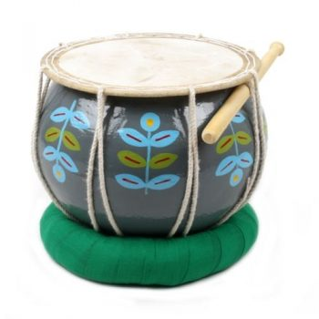 Blue leaf nagori drum | TradeAid